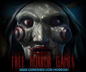 scary horror games on gameshed.com