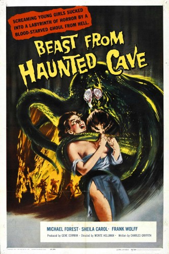 Beast From Haunted Cave poster 1