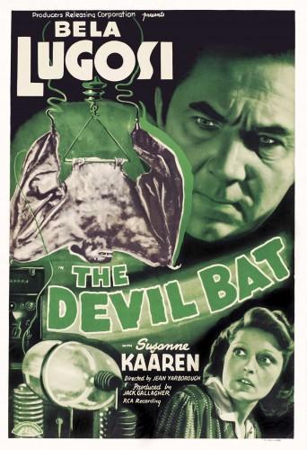 Devil Bat poster 1
