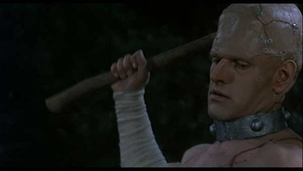 David Prowse in Horror of Frankenstein