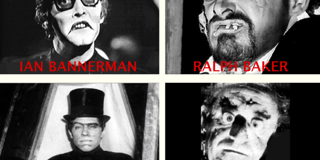 The Four Faces Of Deadly Earnest Late-Night Horror Host