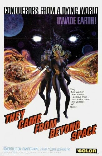 They Came From Beyond Space poster 1