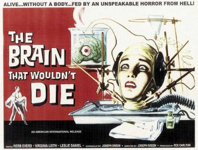 Brain That Wouldn't Die poster 1