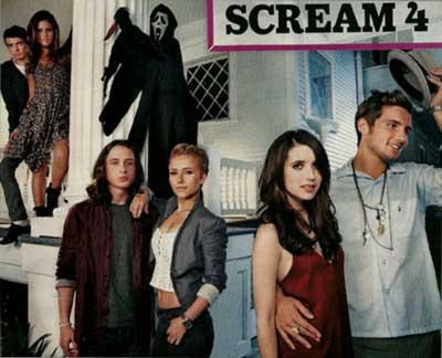 scream 4 and even more scream pics hnn