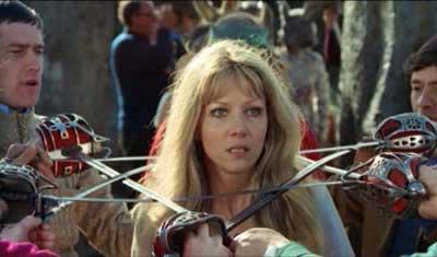 Ingrid Pitt in The Wicker Man