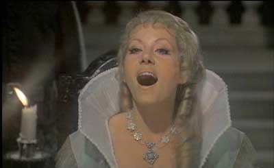 Ingrid Pitt in Countess Dracula