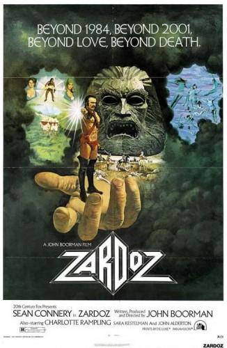 Zardoz poster 1