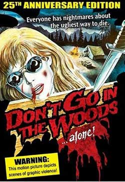 Movie Poster 1981 Don/'t Go In The Woods