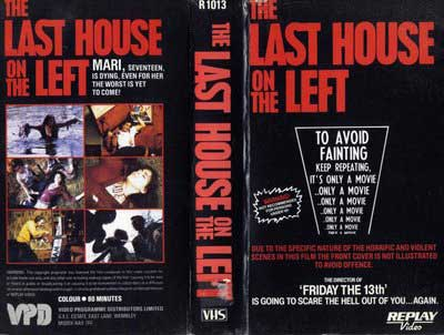 The Last House on The Left (1972)