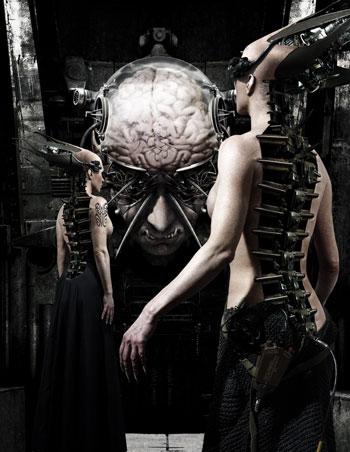 Joachim Luetke Horror Art - Dark Artist - 3