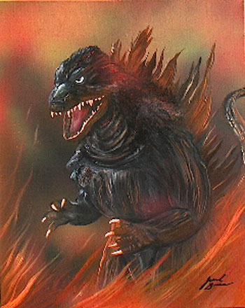 Jerrod Brown - Horror Art - 7