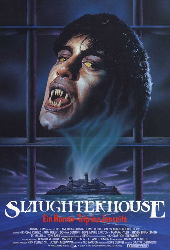 Slaughterhouse Rock - rock and roll Horror Movie
