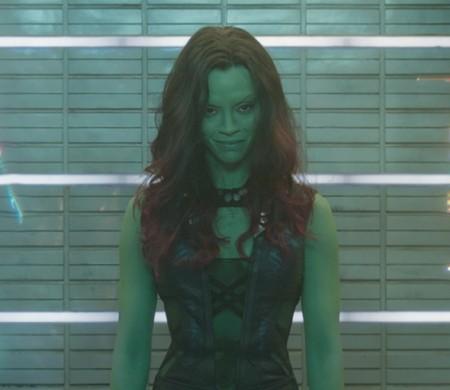 Marvel's Guardians Of The Galaxy Gamora (Zoe Saldana) Ph: Film Frame ©Marvel 2014