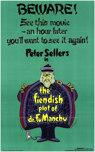 Fu Manchu poster 2
