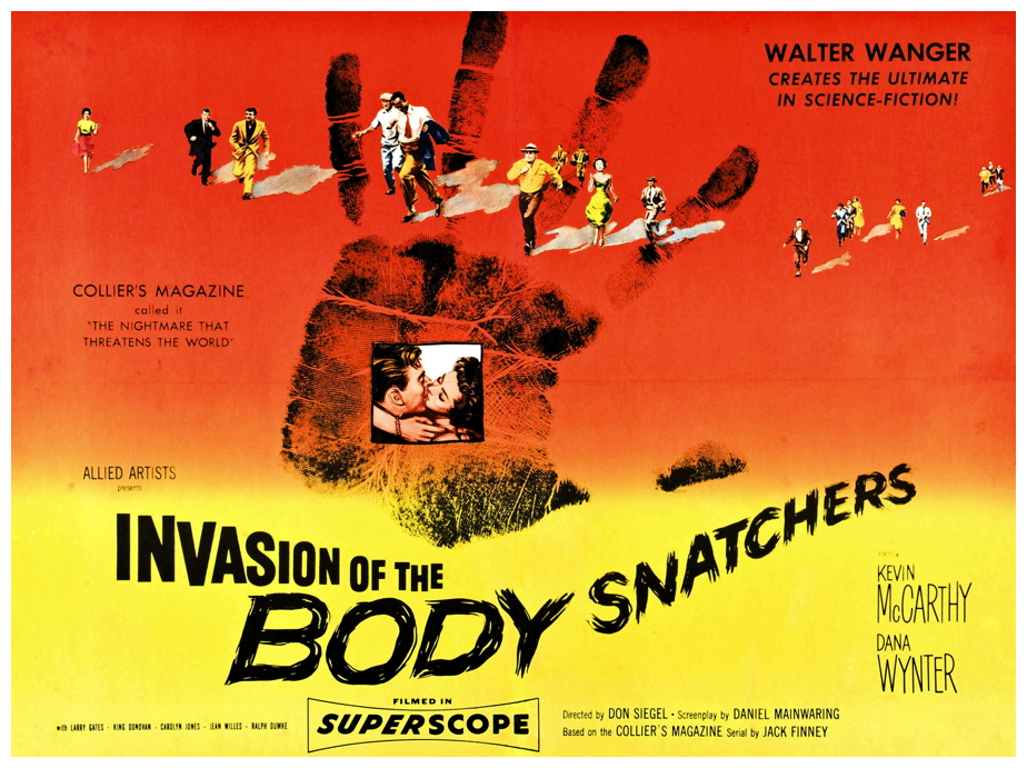 Film Review  Invasion Of The Body Snatchers  1956