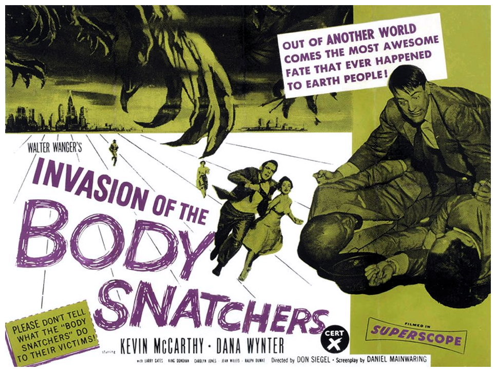 Invasions Of The Body Snatchers poster - history image