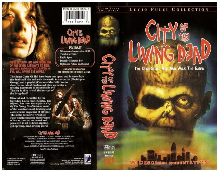 VN City Of The Living Dead VHS 1