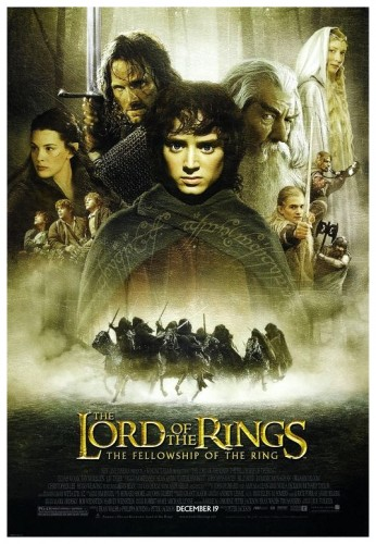 LOTR Fellowship Of The Ring poster 1