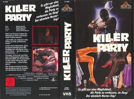 Film Review: Killer Party (1986)   HNN