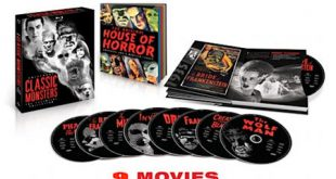 House of Horror Blurays