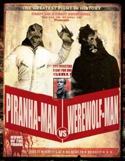 Film Review: Piranha-Man Versus Werewolf-Man (2012) | HNN