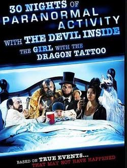 Film Review: 30 Nights Of Paranormal Activity With The Devil Inside The Girl With The Dragon Tattoo (2013)