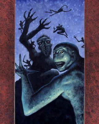 other artwork by Steven C Gilberts, courtesy of stevengilberts.com