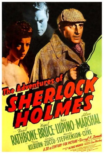 Adventures Of Sherlock Holmes poster 2