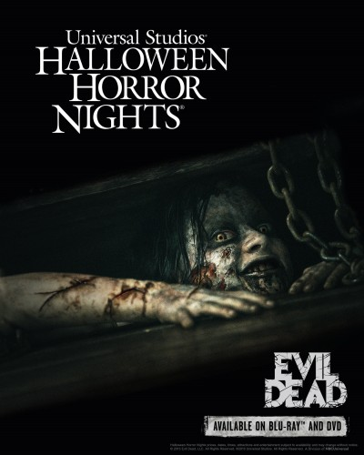 Evil Dead Comes to Universal's Halloween Horror Nights - HR