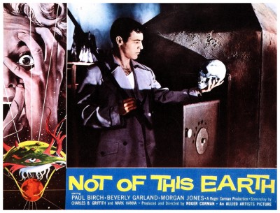 Not Of This Earth lobby card 2