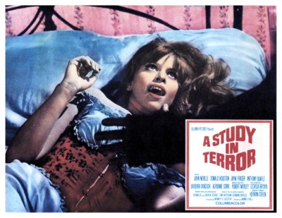 Study In Terror lobby card 4