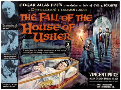 Fall Of The House Of Usher lobby card