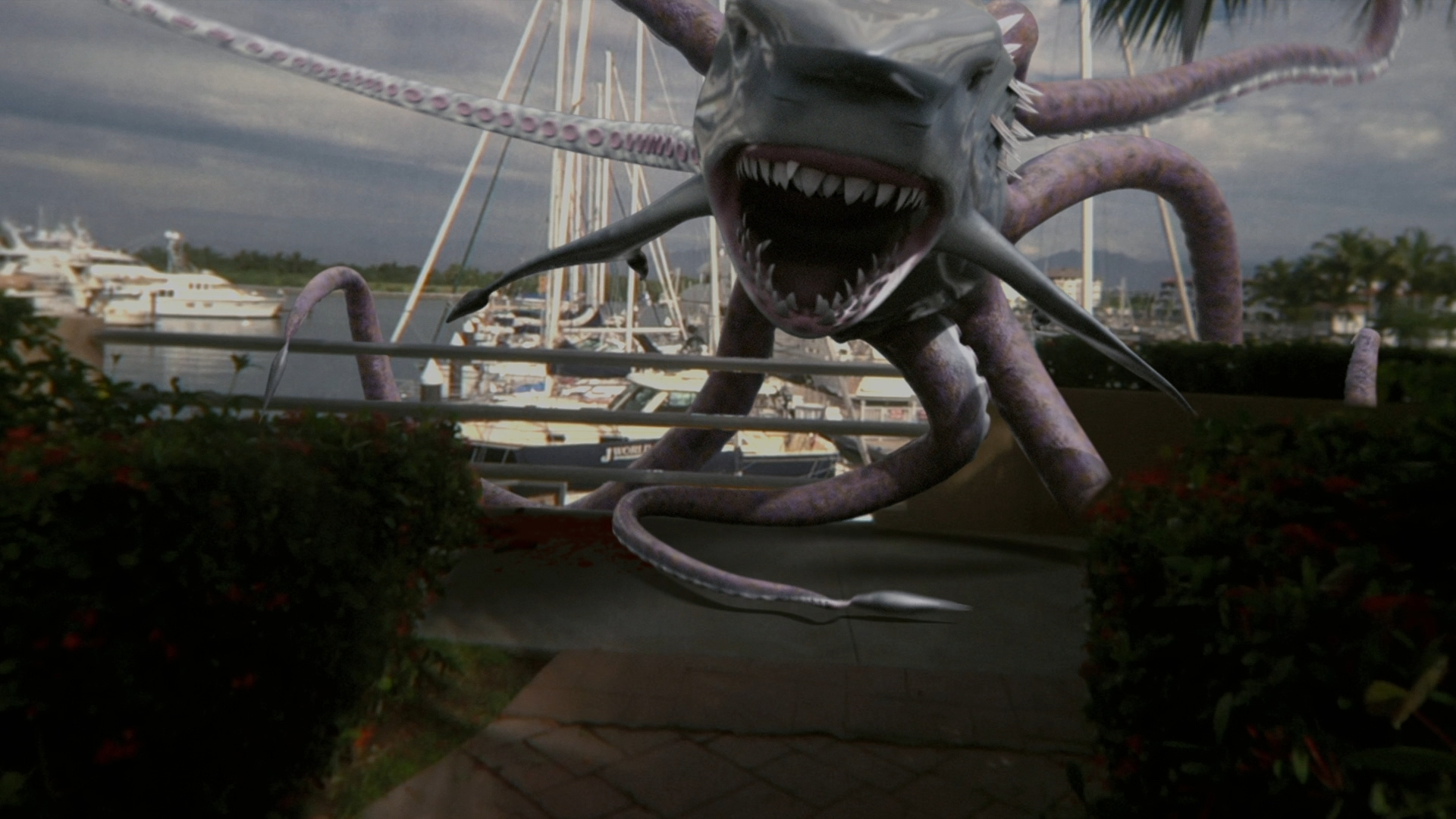 Our First Look At SHARKTOPUS VS. MERMANTULA | HNN