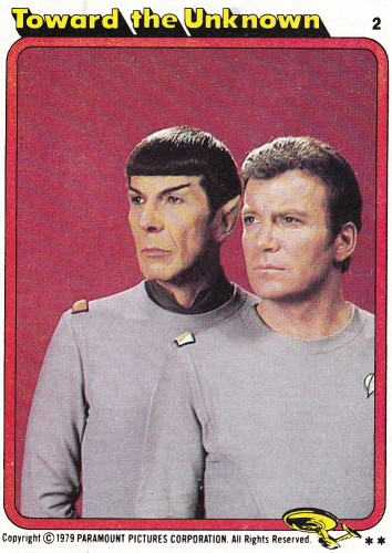 Star Trek The Motion Picture trading card 2