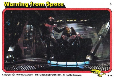 Star Trek The Motion Picture trading card 5
