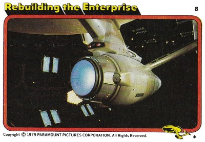 Star Trek The Motion Picture trading card 6