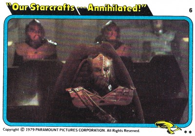 Star Trek The Motion Picture trading card 7