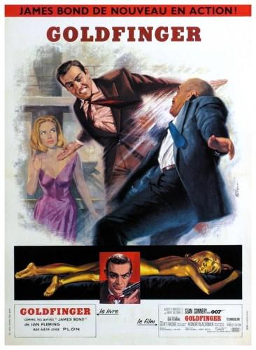 Goldfinger poster 2
