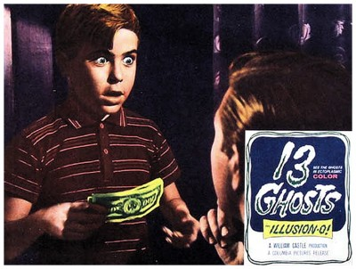 13 Ghosts lobby card 2