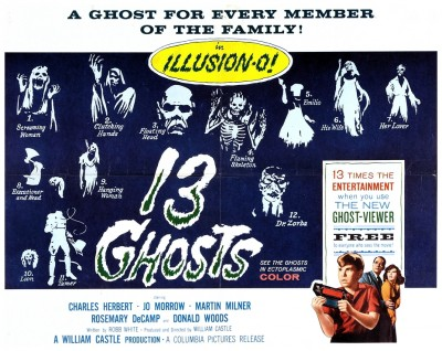 13 Ghosts lobby card 8