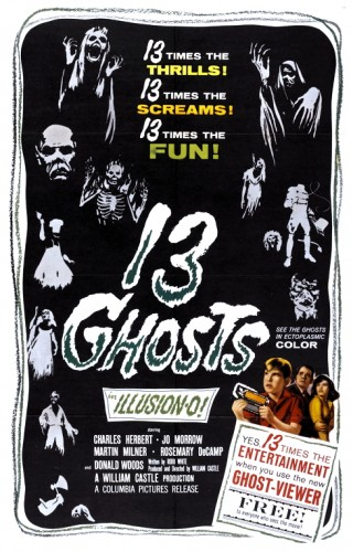 13 Ghosts poster 1