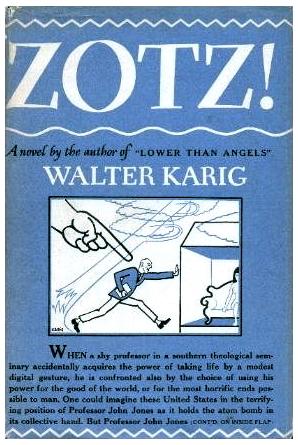 Zotz! novel