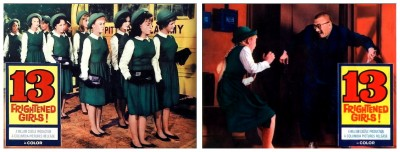 13 Frightened Girls lobby cards 1