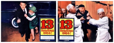 13 Frightened Girls lobby cards 3