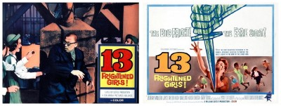 13 Frightened Girls lobby cards 4