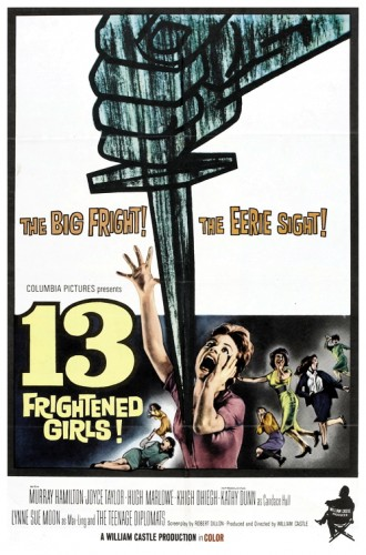 13 Frightened Girls poster