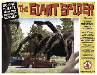 Giant Spider lobby card 1