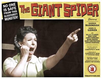 Giant Spider lobby card 2