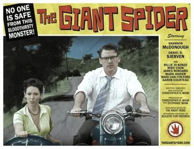 Giant Spider lobby card 3