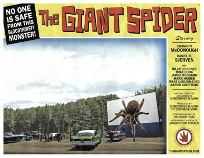 Giant Spider lobby card 4